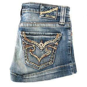 Big Star Sweet Ultra Low Rise Women's Jean Shorts